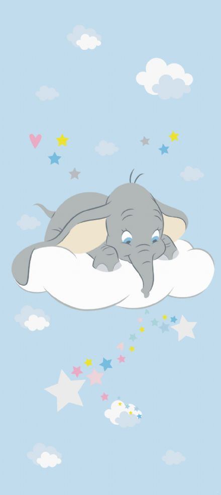 Dumbo Disney mural wallpaper 90x202cm
